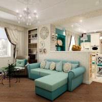 идея красивого декора двухкомнатной квартиры фото