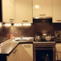 вариант яркого сочетания бежевого цвета в интерьере квартиры фото