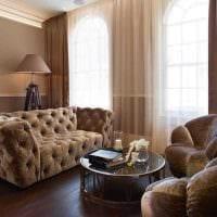 вариант необычного сочетания цвета в интерьере современной квартиры картинка