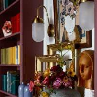 вариант светлого сочетания цвета в стиле современной комнаты картинка