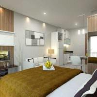 идея яркого сочетания цвета в декоре современной квартиры фото