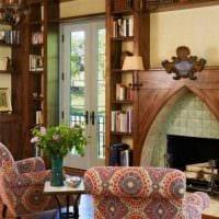 идея яркого дизайна квартиры в романском стиле фото