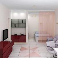 идея светлого стиля двухкомнатной квартиры картинка