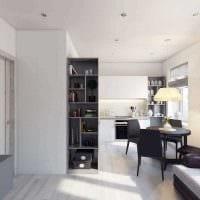 идея красивого декора двухкомнатной квартиры в хрущевке фото