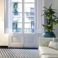 вариант необычного интерьера маленькой комнаты фото