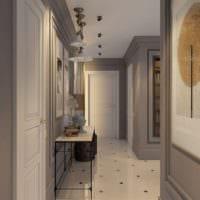 дизайн для длинного коридора