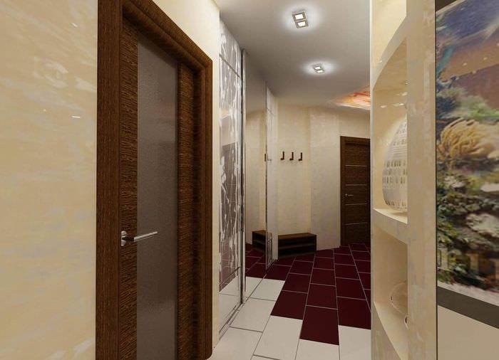 керамическая плитка в коридоре