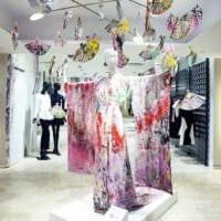 дизайн магазина одежды оформление