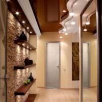 дизайн маленького длинного коридора