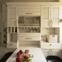 складной стол дизайн малогабаритной кухни