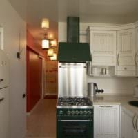 дизайн малогабаритной кухни плита