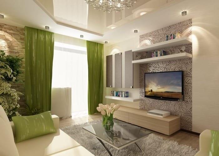 Декор гостиной своими руками фото эконом