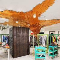 дизайн зала магазина одежды