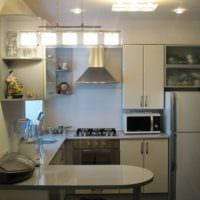 дизайн кухни 6 кв метров с гостиной