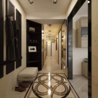 идеи декора длинного коридора