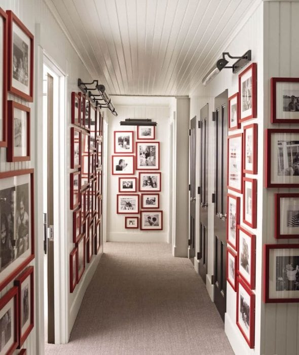 Идеи стен в коридоре своими руками