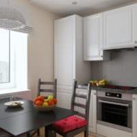 интерьер кухни 6 кв метров