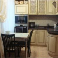 интерьер небольшой дизайн кухни 5 квадратных метров