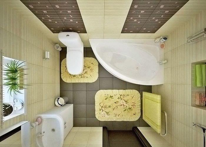 Туалет 3 кв м дизайн фото