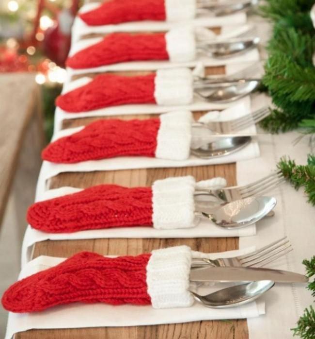 чехлы для посуды на новый год