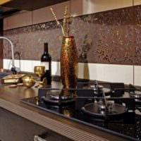 керамический фартук для дизайн кухни 5 квадратных метров