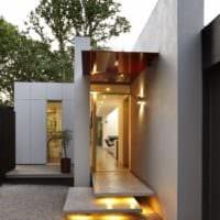 крыльцо загородного дома дизайн