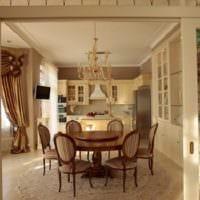 кухня столовая в классическом стиле