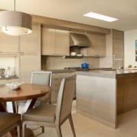 кухня столовая дизайн