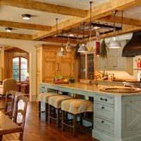 кухня столовая идеи зонирования