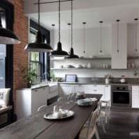 кухня столовая проект