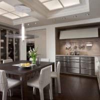 кухня столовая удобный дизайн