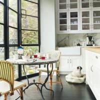 кухня с эркером фото идеи