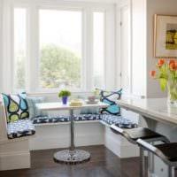 кухня с эркером фото проект