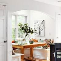 кухня с эркером планировка