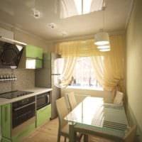 кухня 6 кв метров оформление