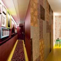 оформление длинного коридора