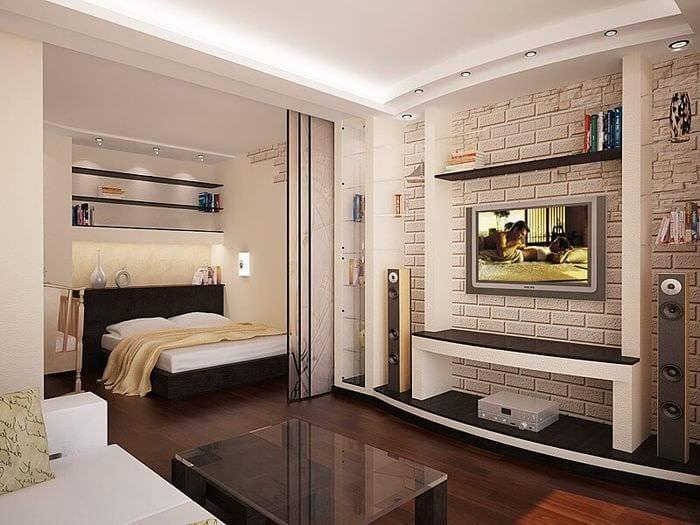 освещение спальной зоны