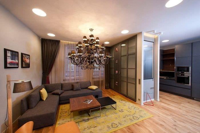 отделка однокомнатной квартиры
