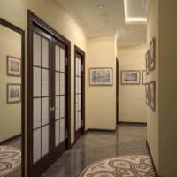 персональный интерьер коридора