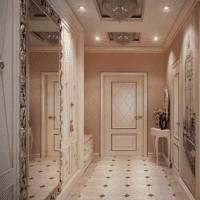 планировка длинного коридора