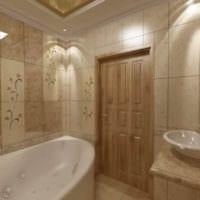 изысканный дизайн ванной