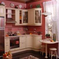 прованский дизайн малогабаритной кухни