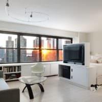 организация пространства для однокомнатной квартиры