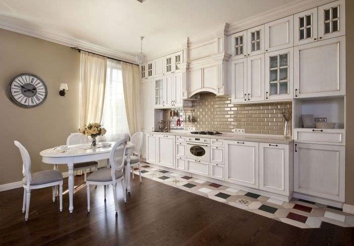 стиль прованс на кухне