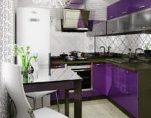 стильная кухня 6 кв м