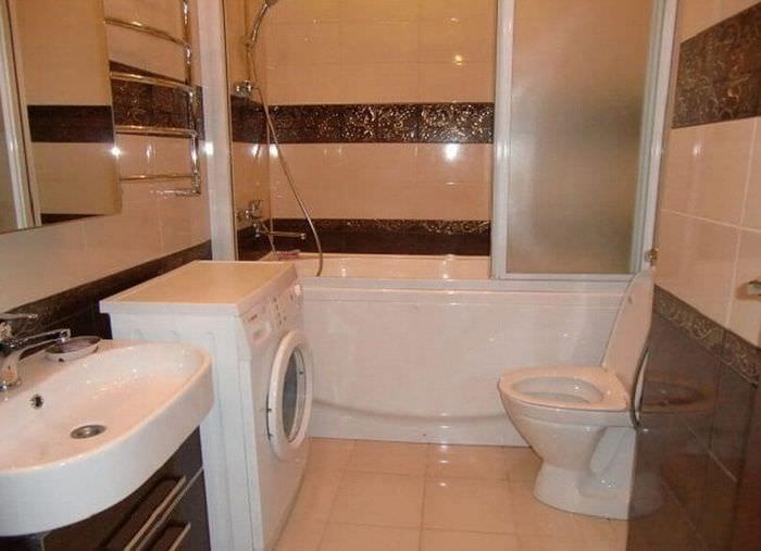 соединение ванной и туалета