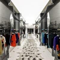трендовый дизайн магазина одежды