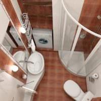 совмещение ванной с туалетом