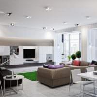 выделение гостиной зоны
