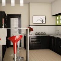 барная стойка на кухне фото
